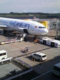 スリランカ航空 モルディブ